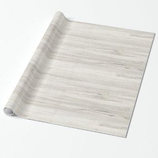 Wood slående in papper för ljus kräm- färg presentpapper