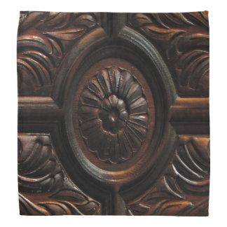 Wood snida abstrakt bandana