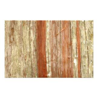 Wood struktur brevpapper