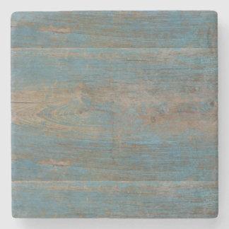 Wood struktur för blåttFauxstrand Stenunderlägg