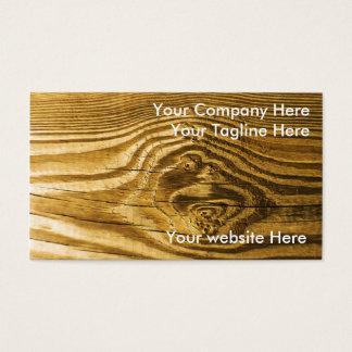 wood struktur för fnurrakornbakgrund visitkort