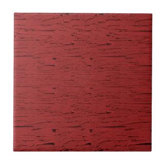 Wood struktur för röd ladugård kakelplatta