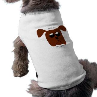 Woof! Woof! Bekläda för valphusdjur Husdjurströja