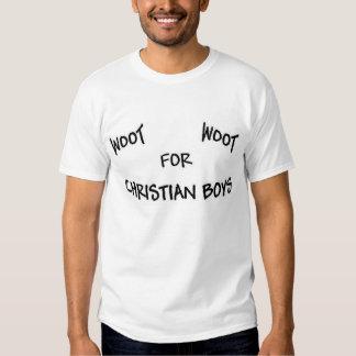 Woot Woot för kristna pojkar Tröja