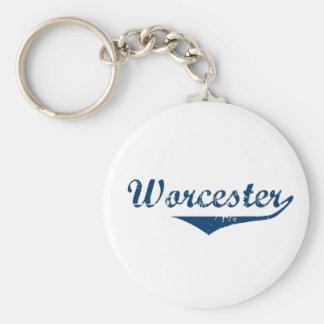 Worcester Rund Nyckelring