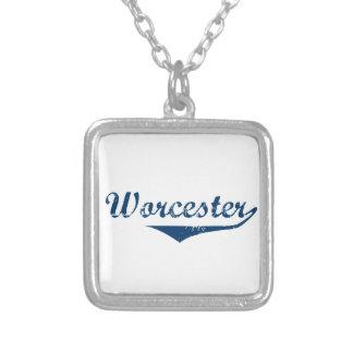 Worcester Silverpläterat Halsband