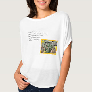 Wordsworth poesi tshirts