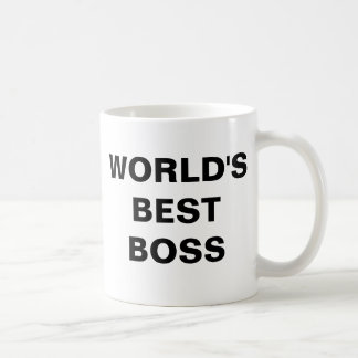 WORLD'SBESTBOSS VIT MUGG
