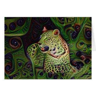 Wowzer Leopard Hälsningskort