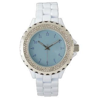 Wranglerblått och grått armbandsur