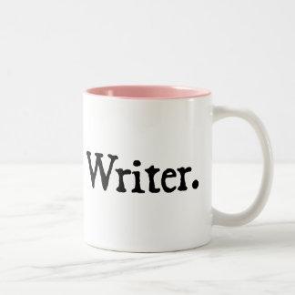 Writer. Två-Tonad Mugg