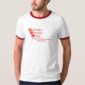 WTF - Onsdag torsdag, fredag Tshirts