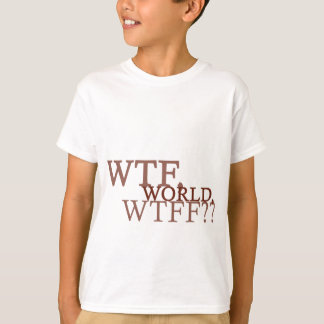WTF-värld Tee Shirts