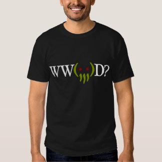 WW Cthulhu D? t-skjorta för ver 2 Tee