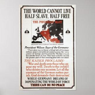 WWI-propaganda Poster