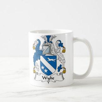 Wylie familjvapensköld kaffemugg