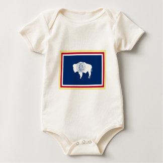 Wyoming flagga body