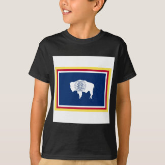 Wyoming flagga t shirts