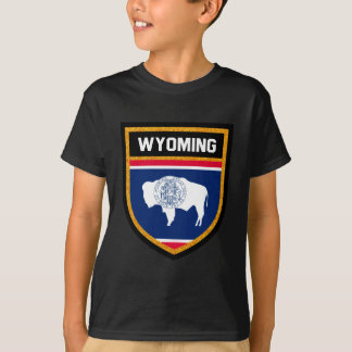 Wyoming flagga tshirts