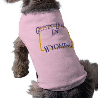 Wyoming - Getting besegrar Hundtröja