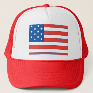 Wyoming patriotisk hatt keps