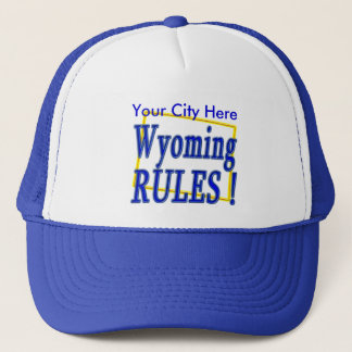 Wyoming regler! truckerkeps