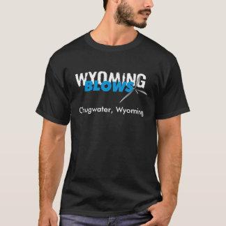 Wyoming slag /Chugwater/blk Tee Shirt