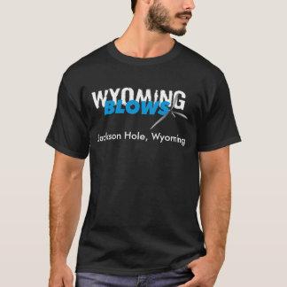 Wyoming slag/Jackson Hole/blk T-shirt