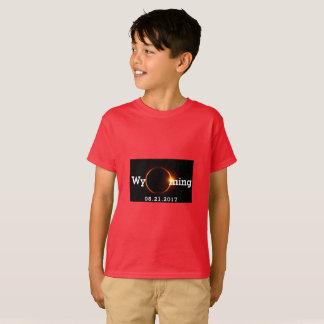 Wyoming sol- förmörkelse t shirt