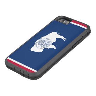 Wyoming statlig flagga tough xtreme iPhone 6 skal