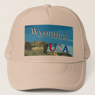 Wyoming USA truckerkeps