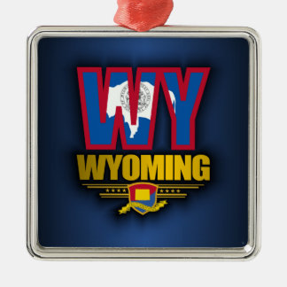 Wyoming (WY) Julgransprydnad Metall