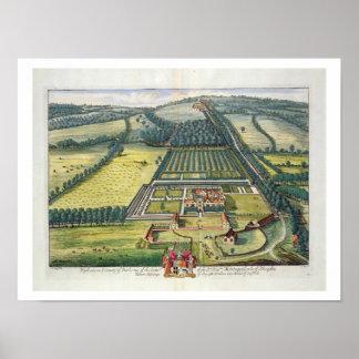 Wytham i länet av Berkshire inristade vid Joha Poster