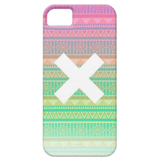 X Aztec iPhone 5 Case-Mate Fodraler