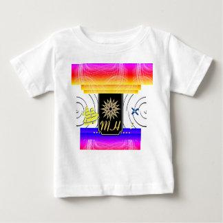 X markerar T-tröja för fläckMonogrambabyen Tshirts