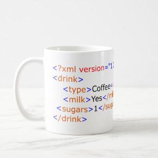 XML som programmerar kaffemuggen Kaffemugg