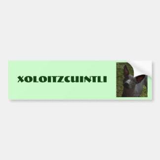 Xoloitzcuintli Bildekal