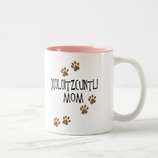 Xoloitzcuintli mamma Två-Tonad mugg