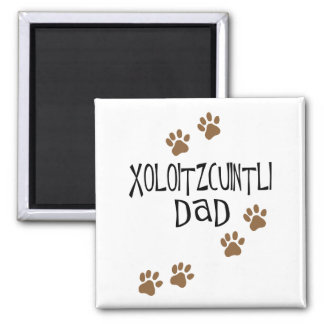 Xoloitzcuintli pappa magnet