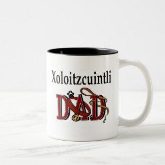 Xoloitzcuintli pappamugg Två-Tonad mugg