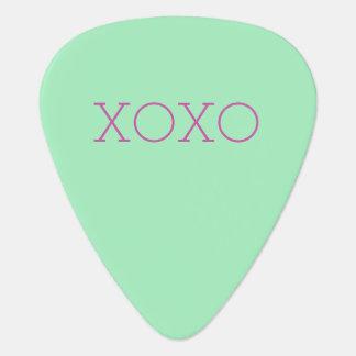 XOXO-gitarrer Plektrum