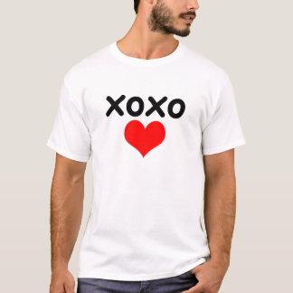 xoxo - kärlekvalentin dag tee