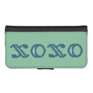 XOXO-kramar och kyssar iPhone SE/5/5s Plånbok