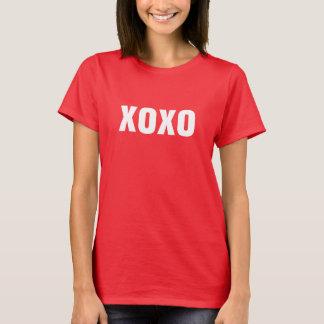 XOXO kramar och kysser skjortan Tee Shirt