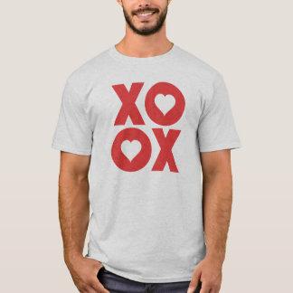 XOXO kramar och kysser valentin dag T-shirt