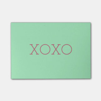 XOXO Postar-it® noterar Post-it Lappar
