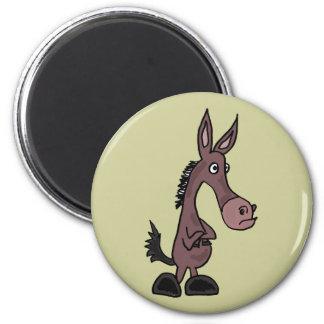 XX- envis Mule eller Donky tecknad Magnet
