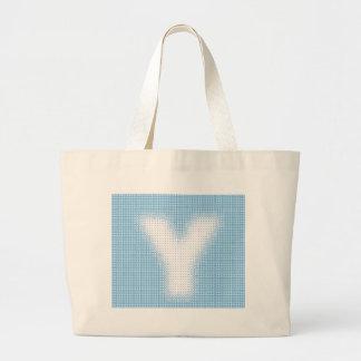 Y-Monogram Tote Bags