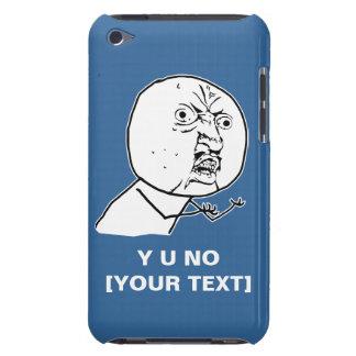 y u ingen rofl för lol för ursinneansikte komisk iPod Case-Mate fodral