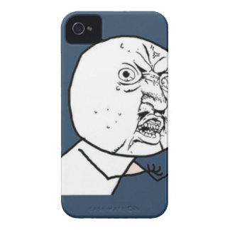 Y U inget Exploitable komiskt ansikte för grabb iPhone 4 Case-Mate Cases